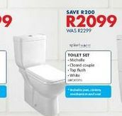 Toilets set offers at R 2099