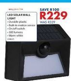 Led solarwall light offers at R 229