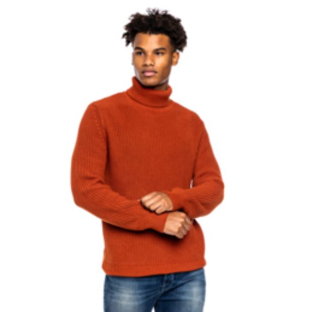 Mkm Chunky Poloneck Jersey Rust offers at R 350