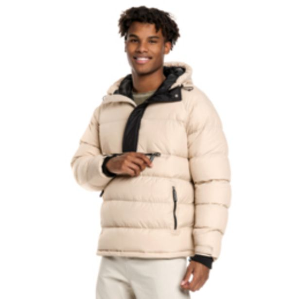 Mkm Anorak Puffer Jacket Stone offers at R 750