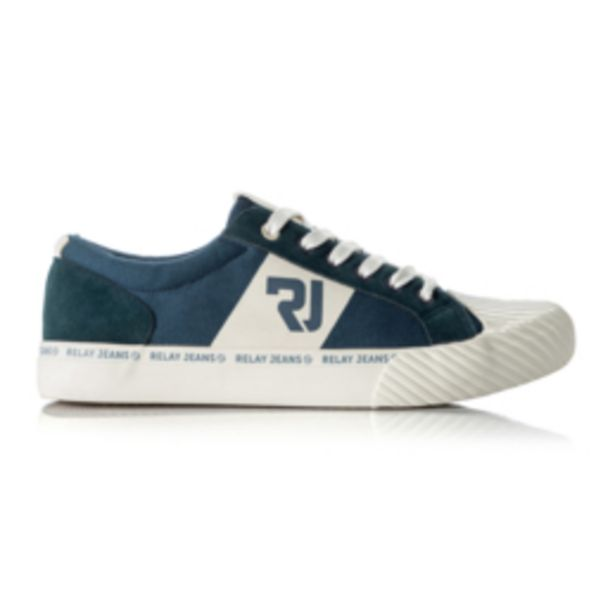 RJ Navy Canvas Tape Sneaker offers at R 399