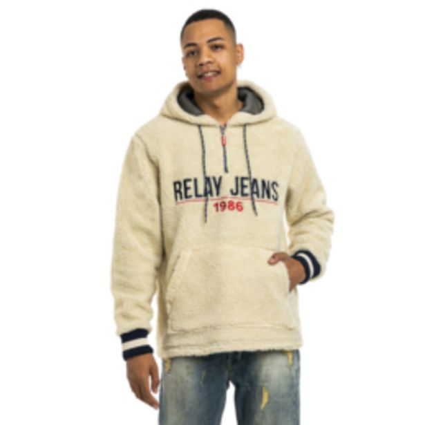 Rj Printed Borg Hoody offers at R 450