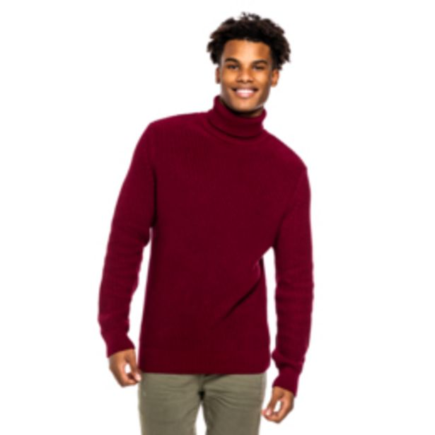 Mkm Chunky Poloneck Jersey Burgundy offers at R 350