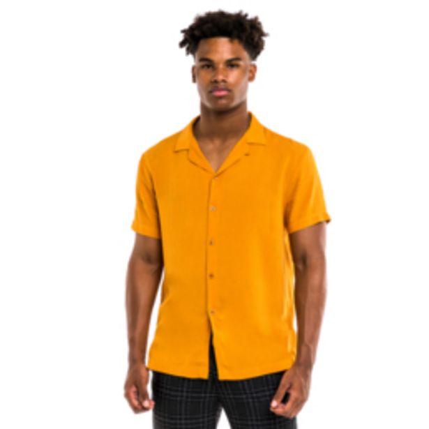 Mkm Plain Viscose Shirt Ochre offers at R 199