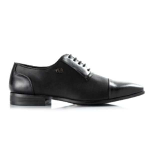 Mkm Patent Toe Cap Oxford Black offers at R 650