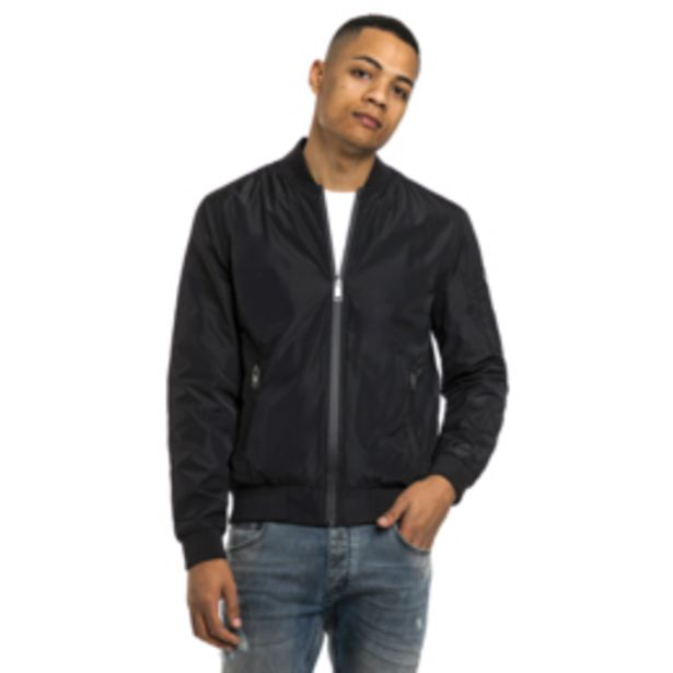 MKM Lined Reversible Lined Bomber Jacket Black offers at R 599