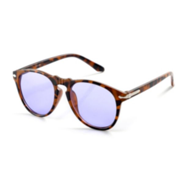 Mkm Gentle Retro Avaitor Sunglasses Brown offers at R 150