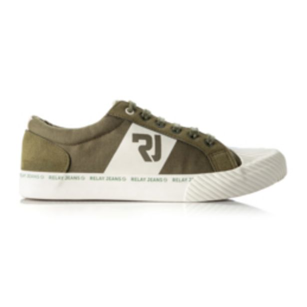 RJ White Canvas Tape Sneaker offers at R 399