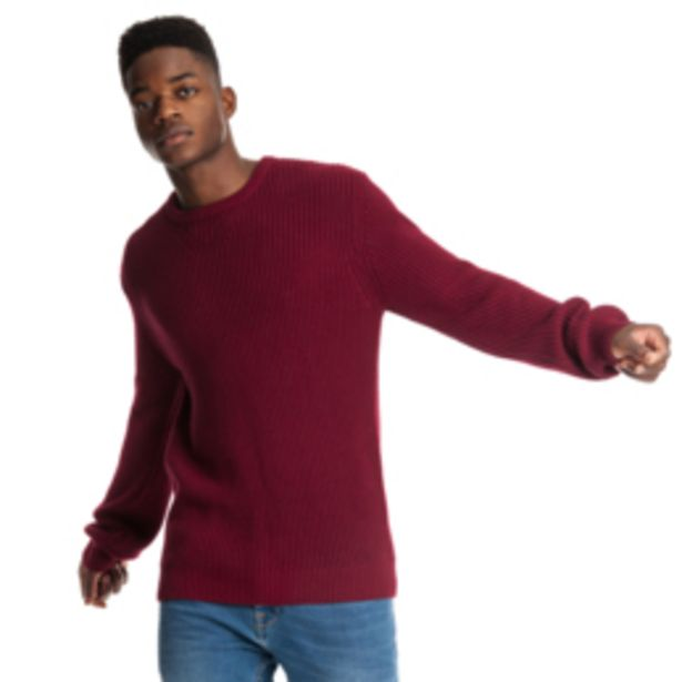 MKM Chunky Sweater Burgundy offers at R 330