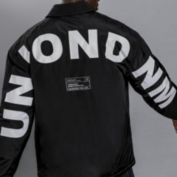 Union Branded Coach Jacket offers at R 1299