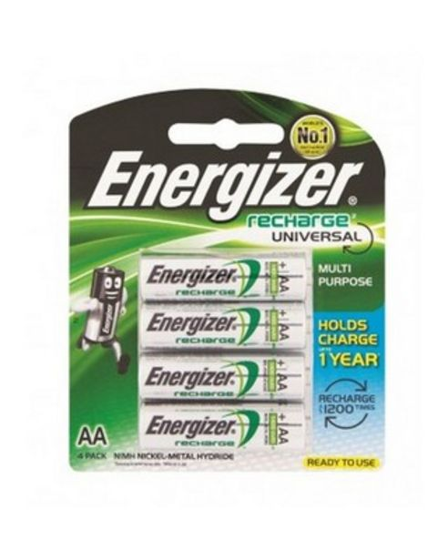 Energizer AA-4 Rechargeable Batteries offers at R 199