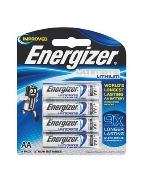 Energizer Lithium E2 4AA Batteries offers at R 175
