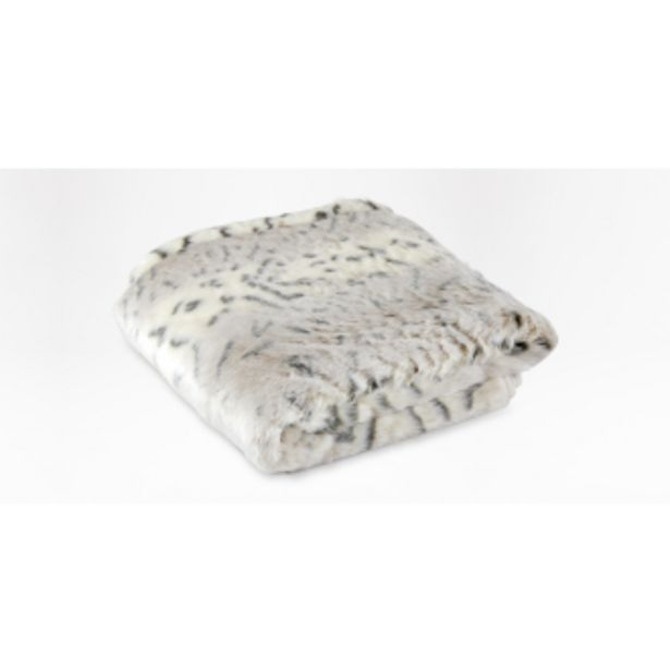 Lynx faux fur throw 150 x 180cm offers at R 1199