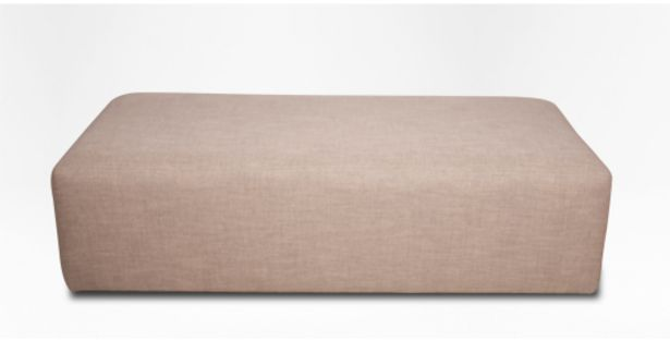 Coffee Fully Upholstered Oblong Ottoman offers at R 3999