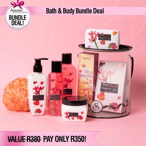 Bath & Body Combo Deal offers at R 350