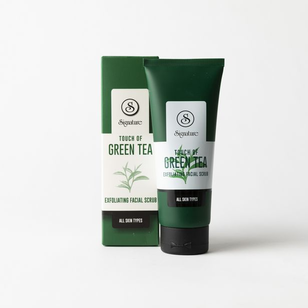 Touch of Green Tea Exfoliating Scrub offers at R 70