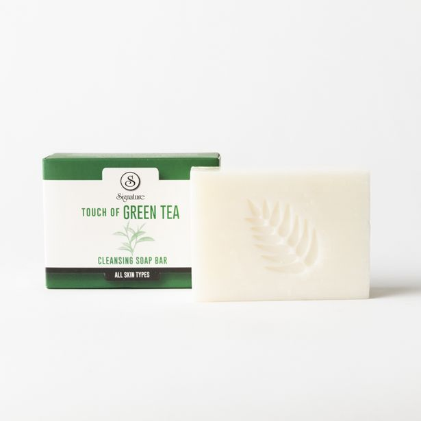 Touch of Green Tea Cleansing Soap Bar offers at R 42