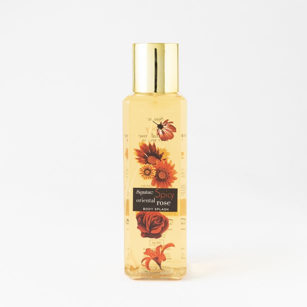 Oriental Spicy Rose Body Splash offers at R 35