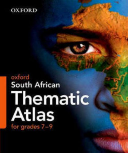 Oxford South African Thematic Atlas for Grades 7-9 offers at R 220