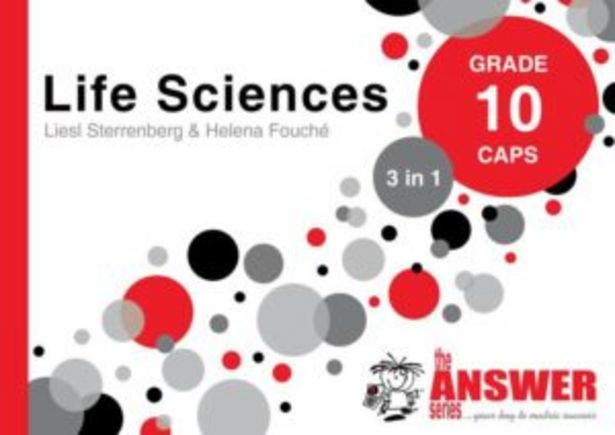 Answer Series Grade 10 Life Sciences 3 In 1 Caps Study Guide,The offers at R 199