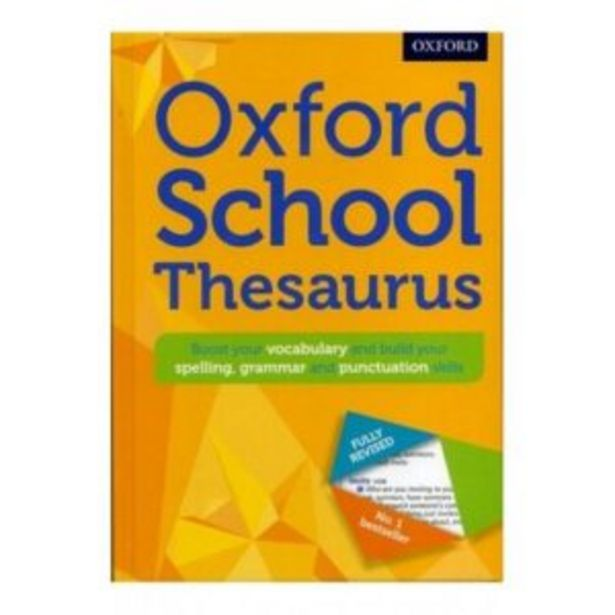 Oxford School Thesaurus offers at R 270