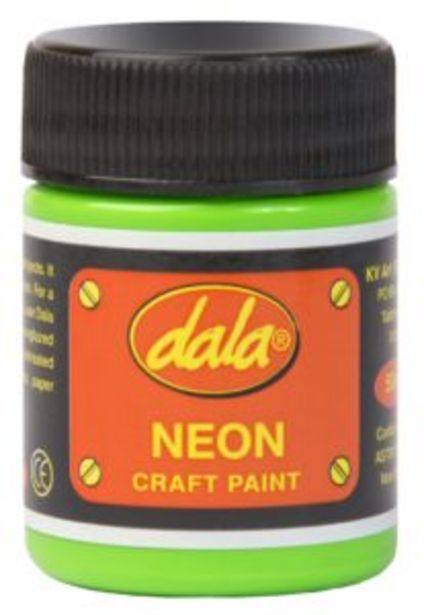 Dala Craft Paint 50ml Neon Green offers at R 40