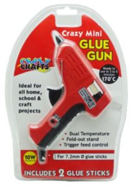 Crazy Crafts Mini Glue Gun offers at R 150