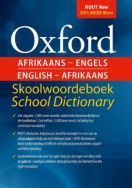 Oxford tweetalige skoolwoordeboek offers at R 160