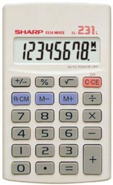 Sharp Basic Calculator El231 offers at R 60