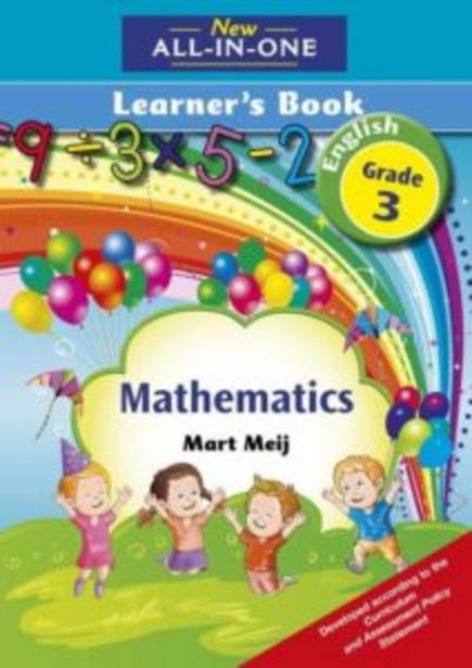 New All-In-One: Mathematics Learner's Book: Grade 3:New All-In-One offers at R 180