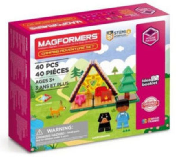 Magformers Camping Adventure 40 Piece Set offers at R 650