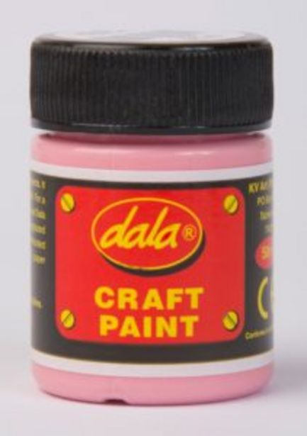 Dala Craft Paint 50ml Pink offers at R 25