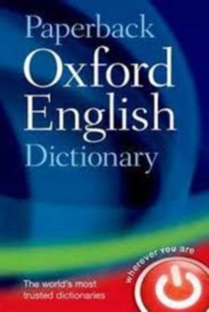 Paperback Oxford English Dictionary offers at R 210