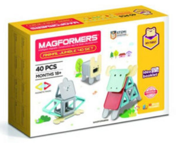 Magformers Animal Jumble 40 Piece Set offers at R 650