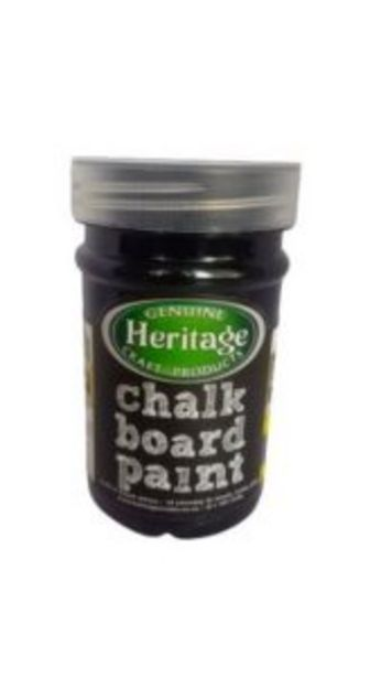 Heritage Chalkboard Paint 250ml Black offers at R 70