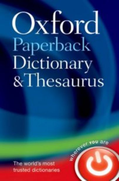 Oxford Paperback Dictionary & Thesaurus offers at R 230