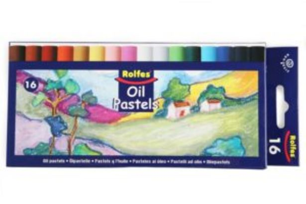 Rolfes Oil Pastels 16s offers at R 70
