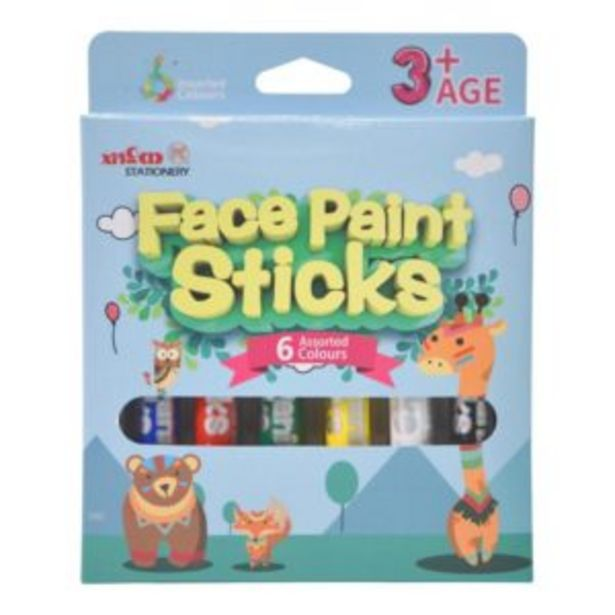 Facepaint Stock Set 6 Colours offers at R 90
