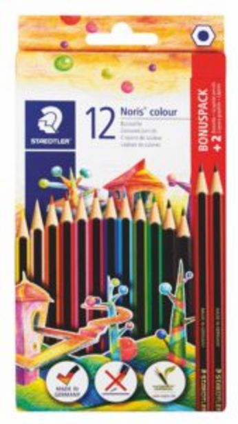 Noris 12 Pencil Crayons offers at R 50