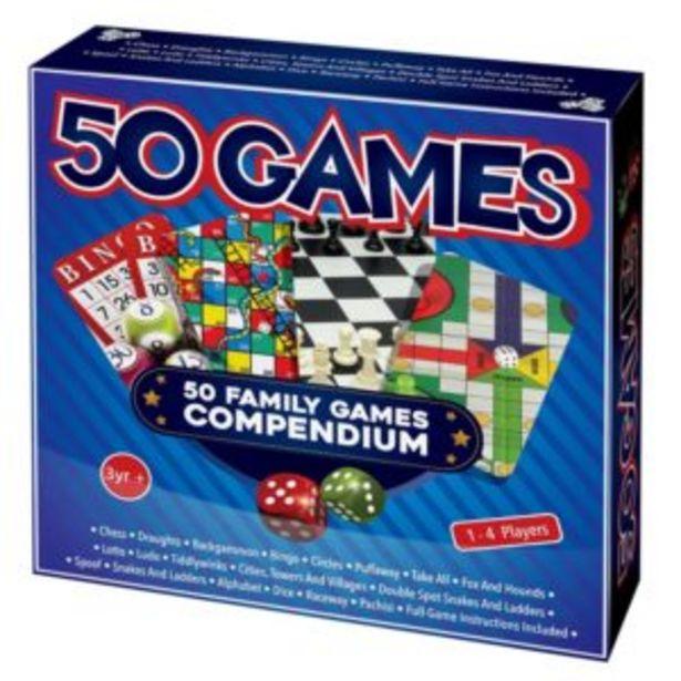 50 Games Compendium offers at R 130
