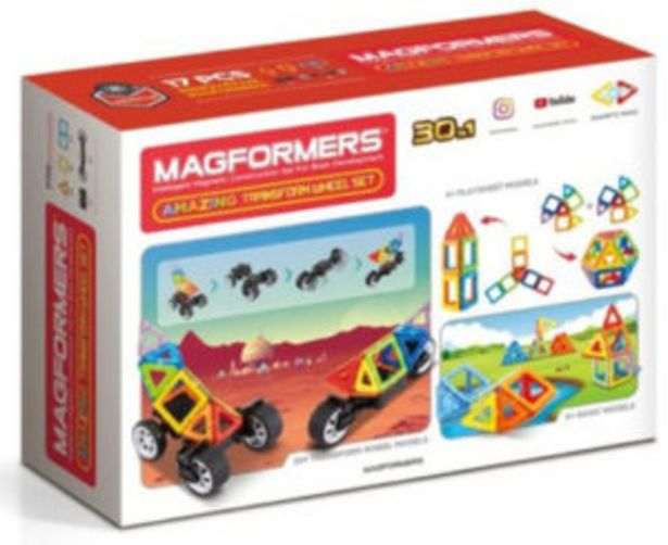 Magformers Amazing Transform Wheel Set offers at R 550