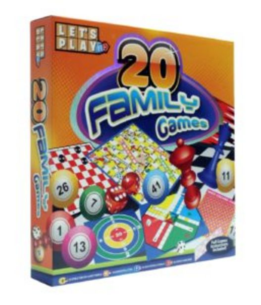 20 Family Games offers at R 100