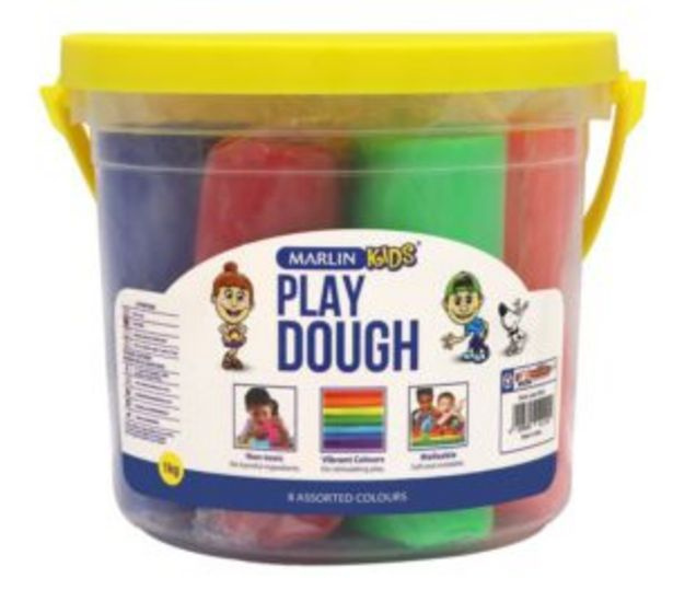 Marlin Kids Play Dough 1kg 8s offers at R 100
