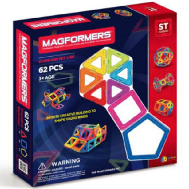 Magformers 62 Piece Rainbow Set offers at R 1700