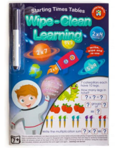 Wipe Clean Learning - Starting Times Tables offers at R 123