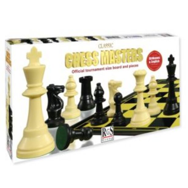 Chess Masters Tournament Set offers at R 180