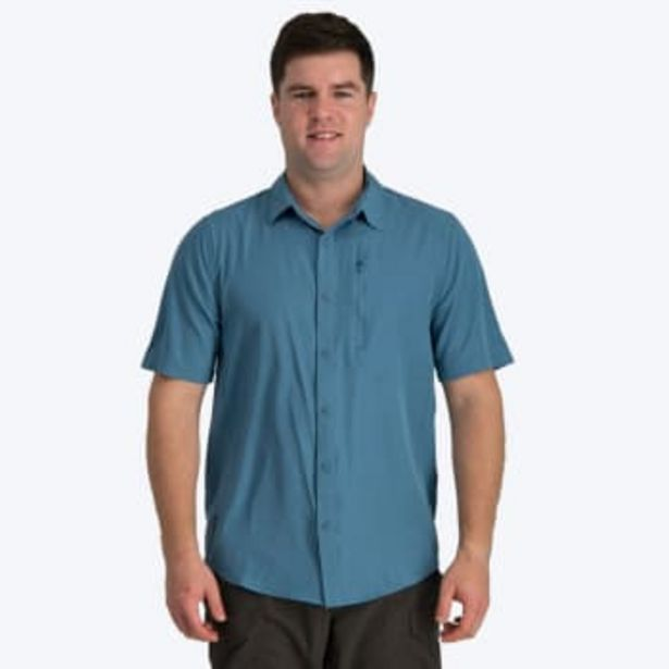 First Ascent Men's Coolstretch Short Sleeve Shirt offers at R 299,9