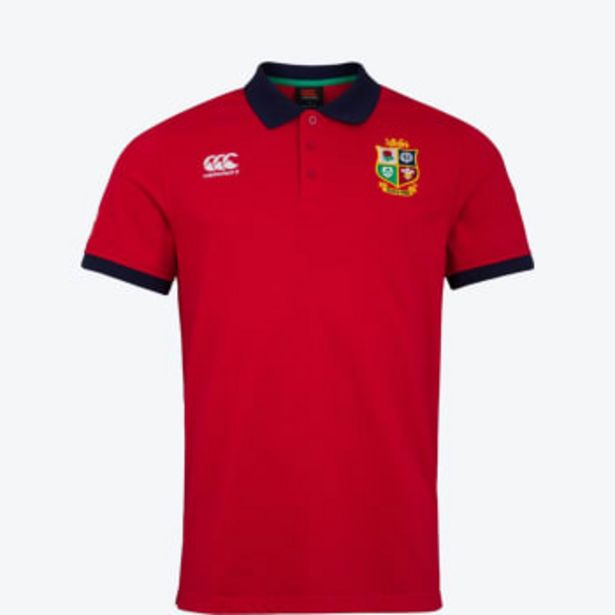 British and Irish Lions Men's 2021 Home Nations Polo offers at R 799,9