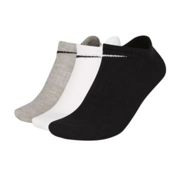 Nike Unisex Every Lightweight Training No-Show Socks 3 Pack Size (M) offers at R 199,9