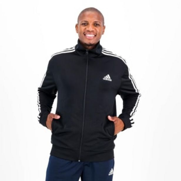 Adidas Men's Essential 3 Stripe Tricot Jacket offers at R 849,9